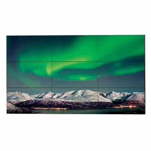 Aluminum Rectangle LCD Video Wall, Display Size: 55 Inch
