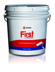 Gardwel High Gloss First Choice Acrylic washable Distemper, for Wall, Packaging Type: PVC Bucket and Bag