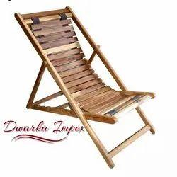 Walnut Resorts Wooden Rest Chair