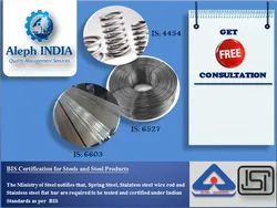 ISI Mark Certifications for Steel and Steel Products