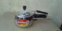 Silver Aluminium Inner Lid 2.0 Liter Pressure Cooker