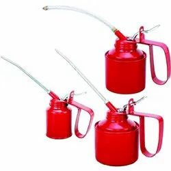 Oil Can Wesco Type 1/2, 1/4, 3/4 Pint or 200, 300, 500cc - Fixed / Flexible Spout