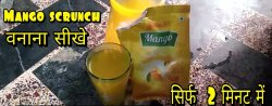 SRCUNCH INSTANT MANGO DRINK, Packaging Type: POUCH