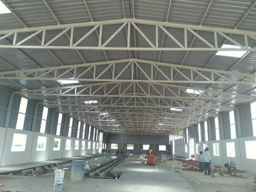 Prefabricated Factory Roofing Shed