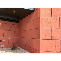 Matt Red Sandstone Tile, for Wall