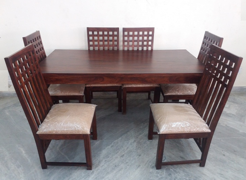 1dc265e4e853 Sheesham 6 Chair Dining Table at Rs 32000 /piece | Wooden Dining ...