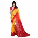 Stylish Bandhani Cotton Saree