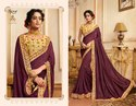 Ethnic  Yellow  Royal Georgette Sarees