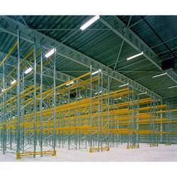 Warehouse Supported Rack