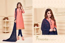 Unstitch Latest Dress Material Fancy Slwar Suit