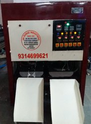 Fully automatic pattal-dona making machine with digital heat control