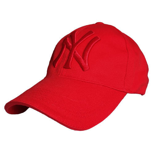 7ce7380fa42 TyranT Fitted NY Cap 3D Embroidered Cotton Baseball Caps Red Color ...