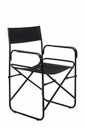 Mild Steel Director Chair, Height: 3 feet