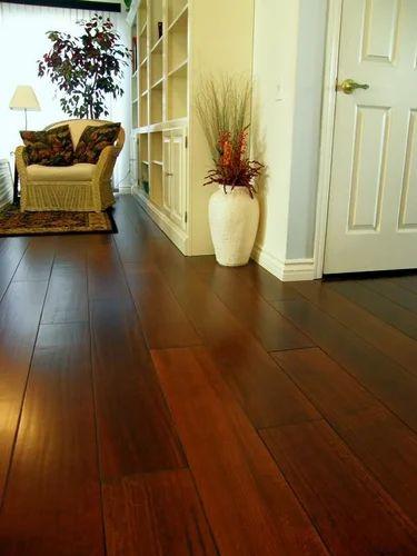 Dark Brown Engineered Wood Flooring