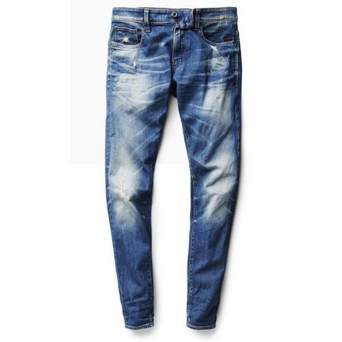 Mens Blue Casual Jeans