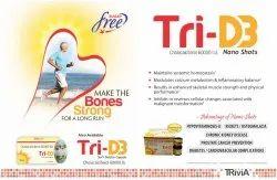 Vitamin D3 Oral Solution 60,000 I.U. (Nano Shot) Butterscoth  Flavour