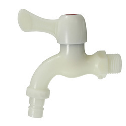 White Plastic Water Tap
