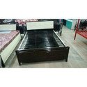 King Size Metal Hydraulic Bed With storage