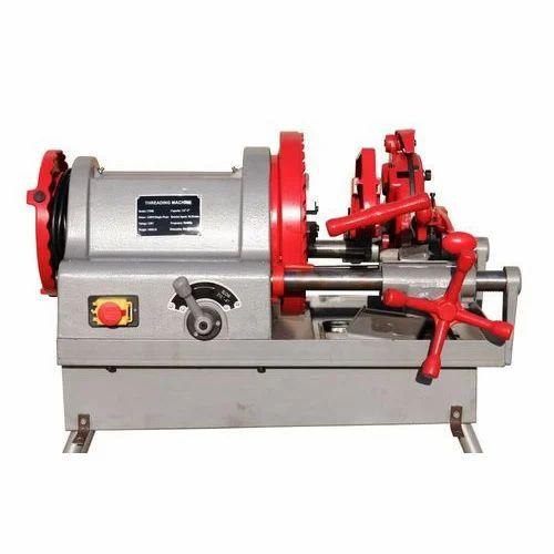 Semi Automatic Pipe Threading Machine