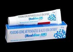 Povidone - Iodine, Metronidazole & Aloe Vera 15gm Ointment