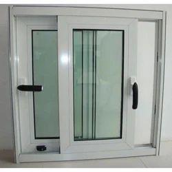 White And Gray Metal Windows