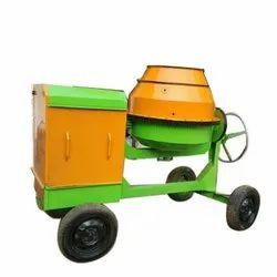 Diesel Semi-Automatic Portable Concrete Mixer Machine, Capacity: 300 L