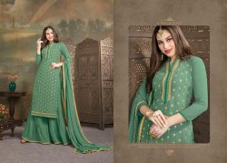 Faux Georgette Salwar Suit dress material