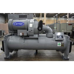 Three Phase Mild Steel Carrier 100 Ton Water Cooled Chiller