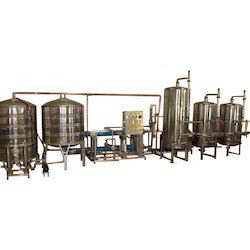 Industrial Mineral Drinking Water Plant
