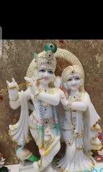 Radha Krishna Marvel Art