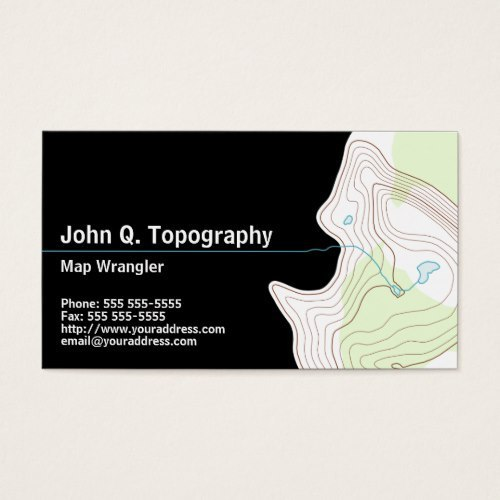 Rectangular Personal Business Card