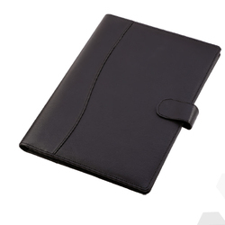 Black Leatherette Folder