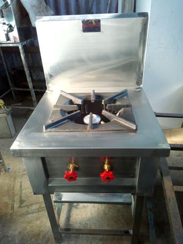 Ss Sri Karpagam Engineering Chinese Stainless Steel Cooking Range