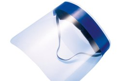 Transparent NJ Protective Face Shield (Personal Protective Equipment) Full Cover Large Size