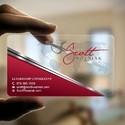 Plastic Transparent Card
