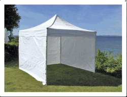 Pyramid Shape White Color Capping Tent