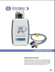 RMS 5 lead ECG Holter