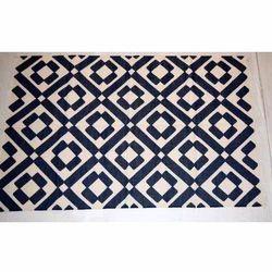 Vimla International Cotton Punja Durrie Room Rug, For Floor, Size: 4 X 6 Feet