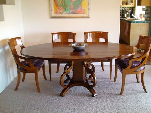 Brown Wooden Designer Dining Table Rs 15000 Set Vishesh Solutions