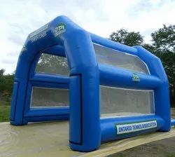 Inflatable Disinfection Tunnel, Misting Walkway