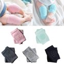 Anti-Slip Padded Stretchable Elastic Cotton Baby Knee Pads