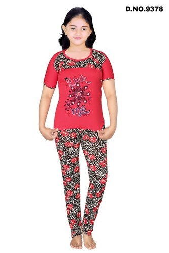 9b1029f7a9e Fancy Girls Night Suit at Rs 200  piece