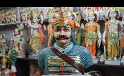Marble Maharana Pratap Statue