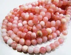 Natural Peruvian Opal Round Ball Shape Beads