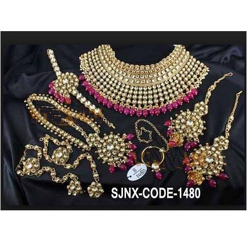 Satyam Jewellery Nx Gold Antique Designer Artificial Kundan
