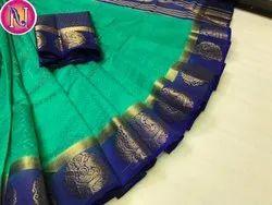 Kanjivaram Tusser Silk
