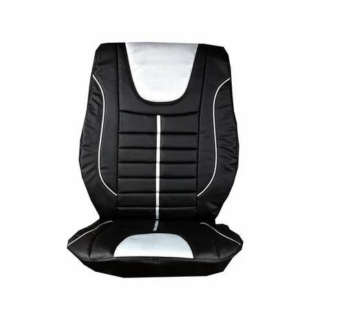 Elaxa Car Seat Cover For Hyundai Santro Xing Black