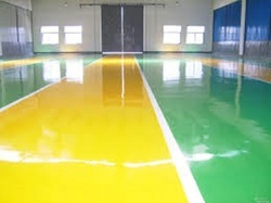 Sports Floor Coating Services