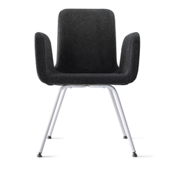 Stylish Black Visitor Chair