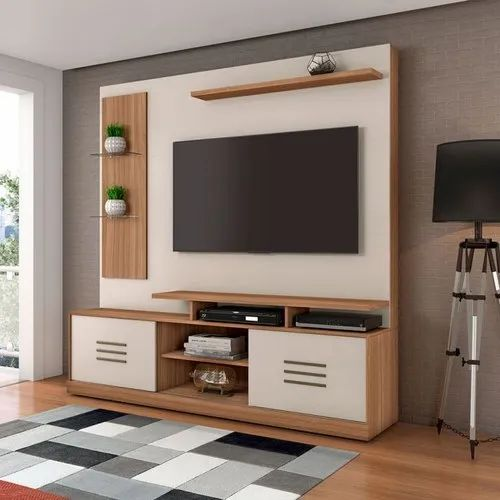 Modern Wall Mounted Tv Unit For Residential Rs 25000 Unit Mangesh Furniture Id 20489381897
